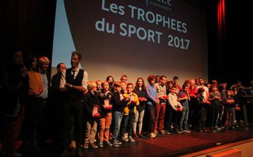 Les lauréats de la 14ème édition des Trophées du Sport.