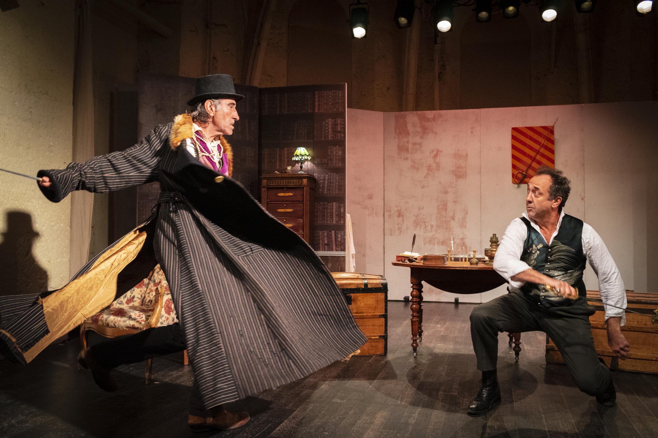 Le secret de Sherlock Holmes, de Joueur Productions, sera joué le 19 décembre 2020 à l'Archipel