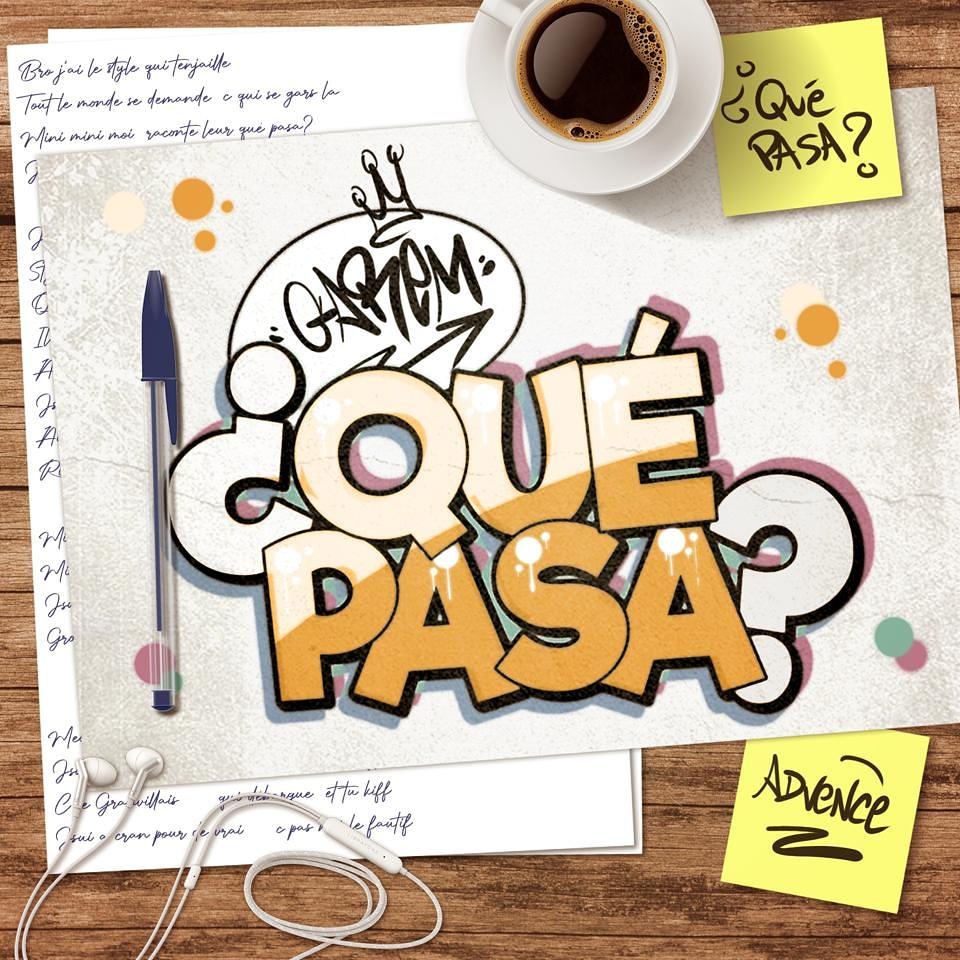 Garem a mis en ligne l'EP de 5 titres ¿ Qué pasa ? le 15 août 2021.