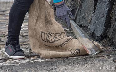 Opération nettoyage de la plage du Plat Gousset ©B.Croisy