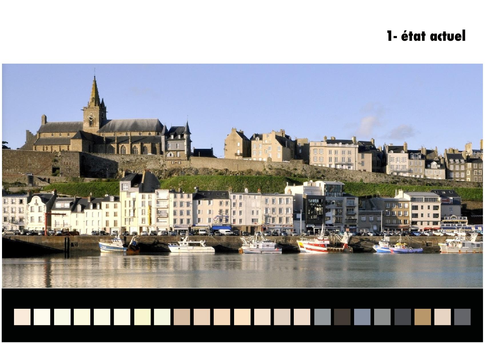 Extrait du guide de coloration des façades