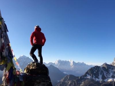 Thomas DUTHEIL à l'assaut de l'Everest
