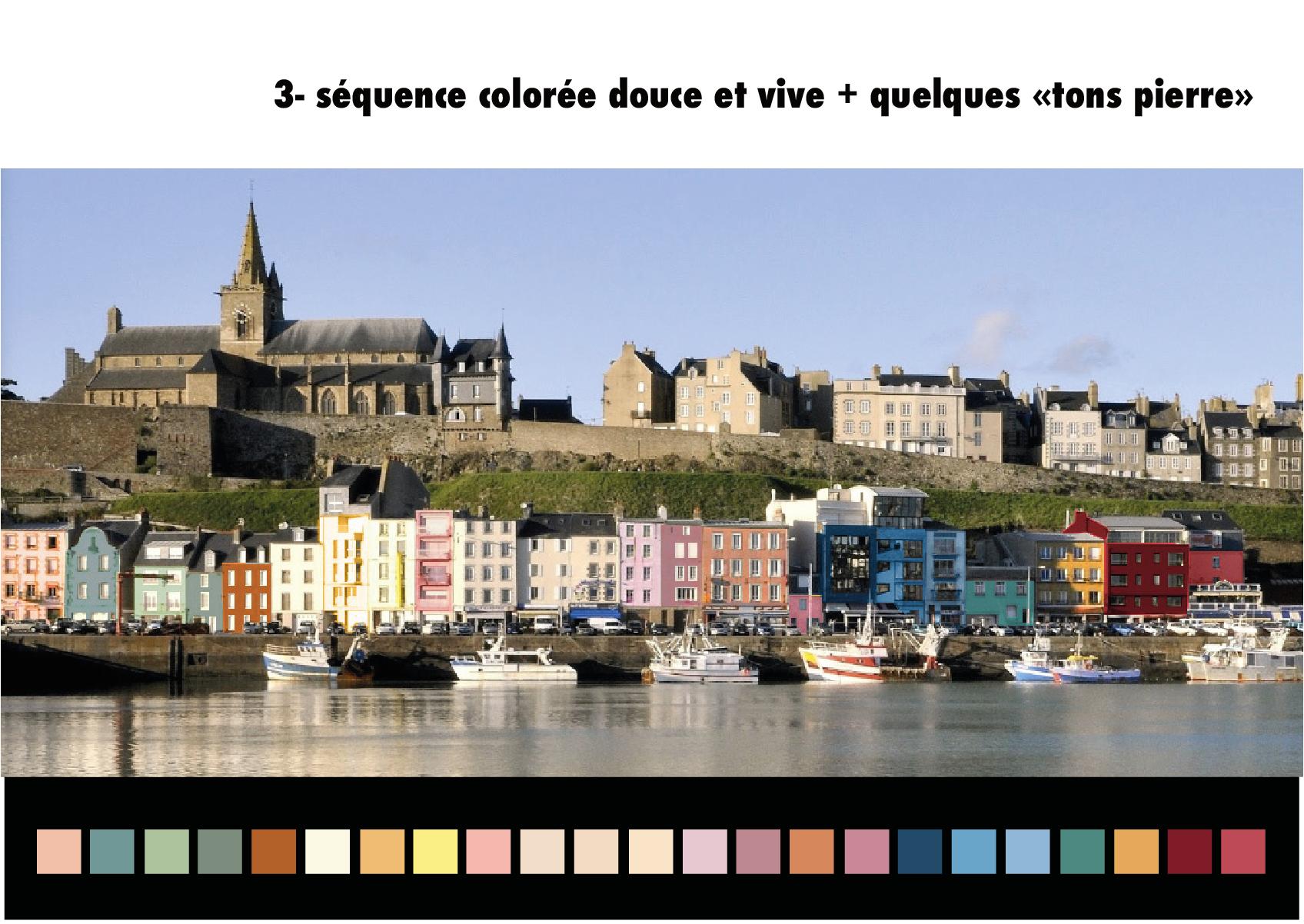 Extrait du guide de coloration des façades©Ludivine.Scelles