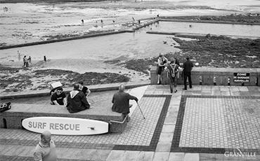 Sauveteurs en mer - Plat Gousset, Granville. ©B.CROISY, coll. Ville de Granville.