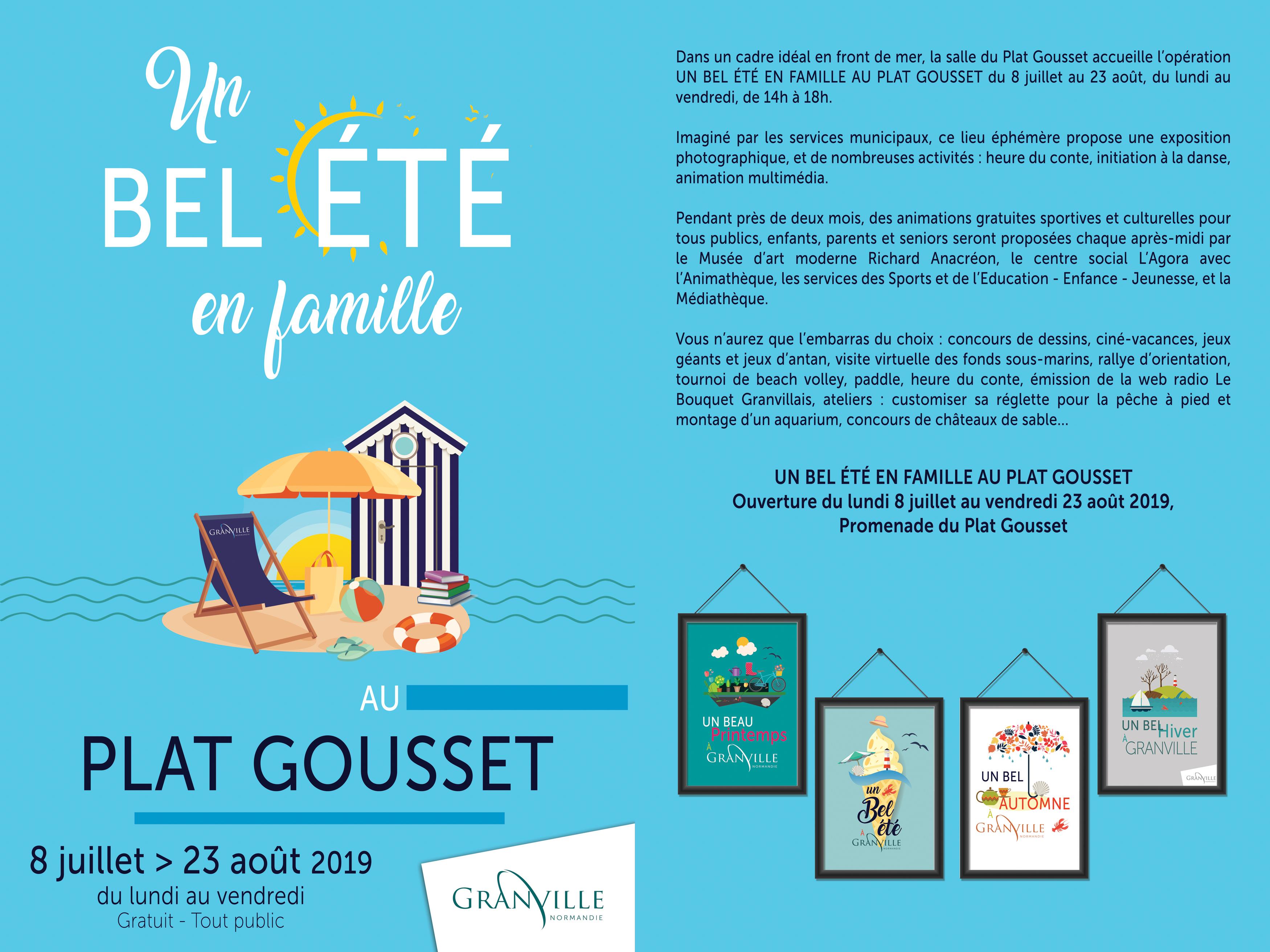 Programme Un bel été en famille au Plat Gousset