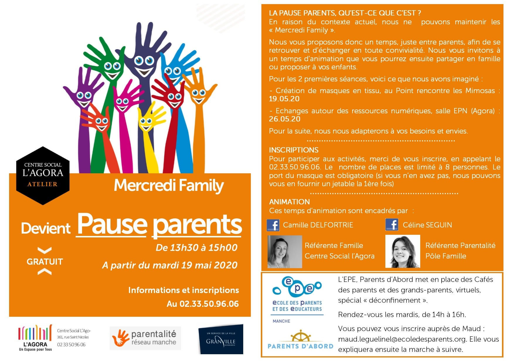 Le Mercredi Family devient Pause Parents.