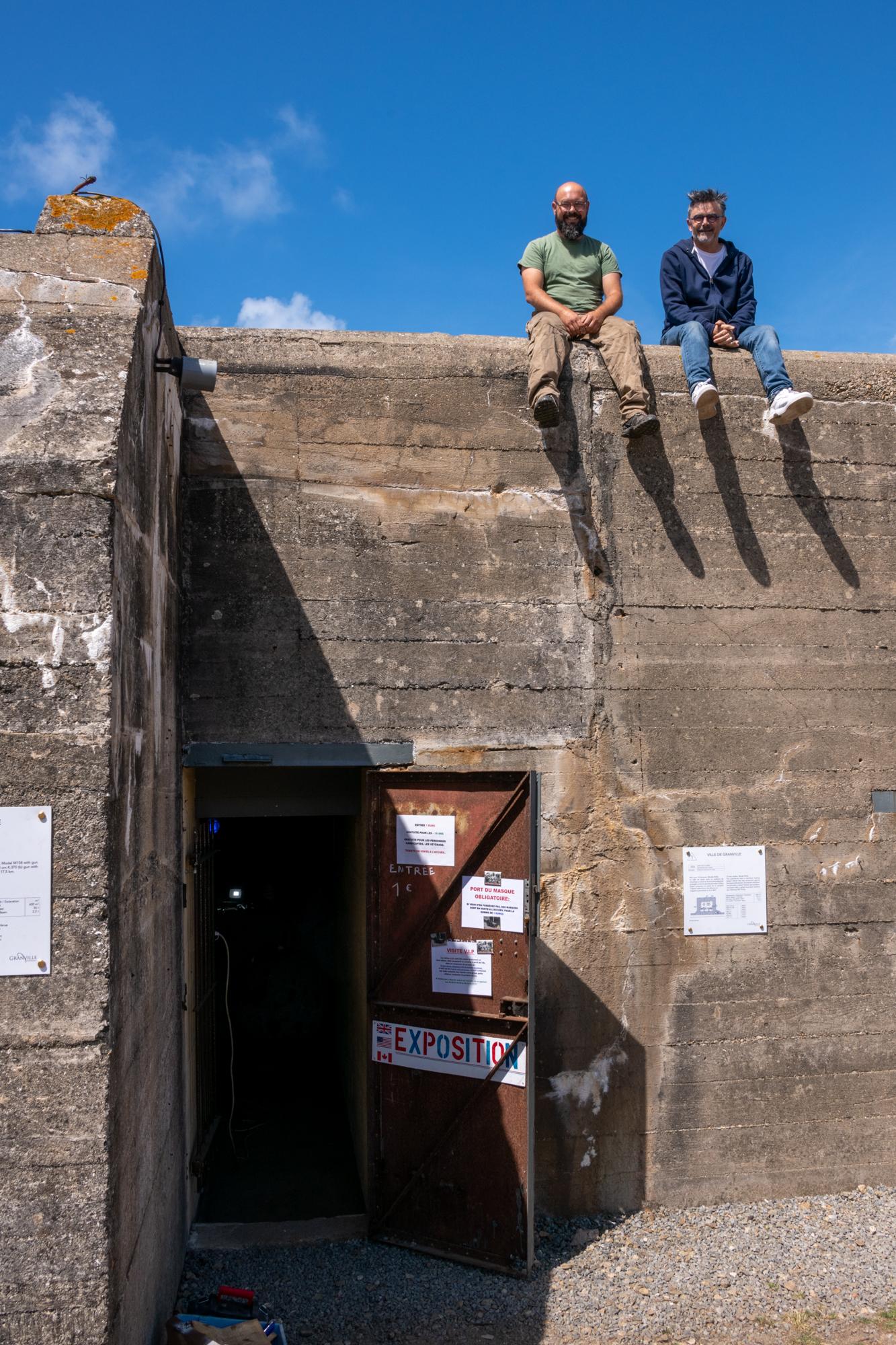 Les bunkers de la Pointe du Roc sont ouverts au public tous les week-ends cet été à Granville.©Benoit.Croisy