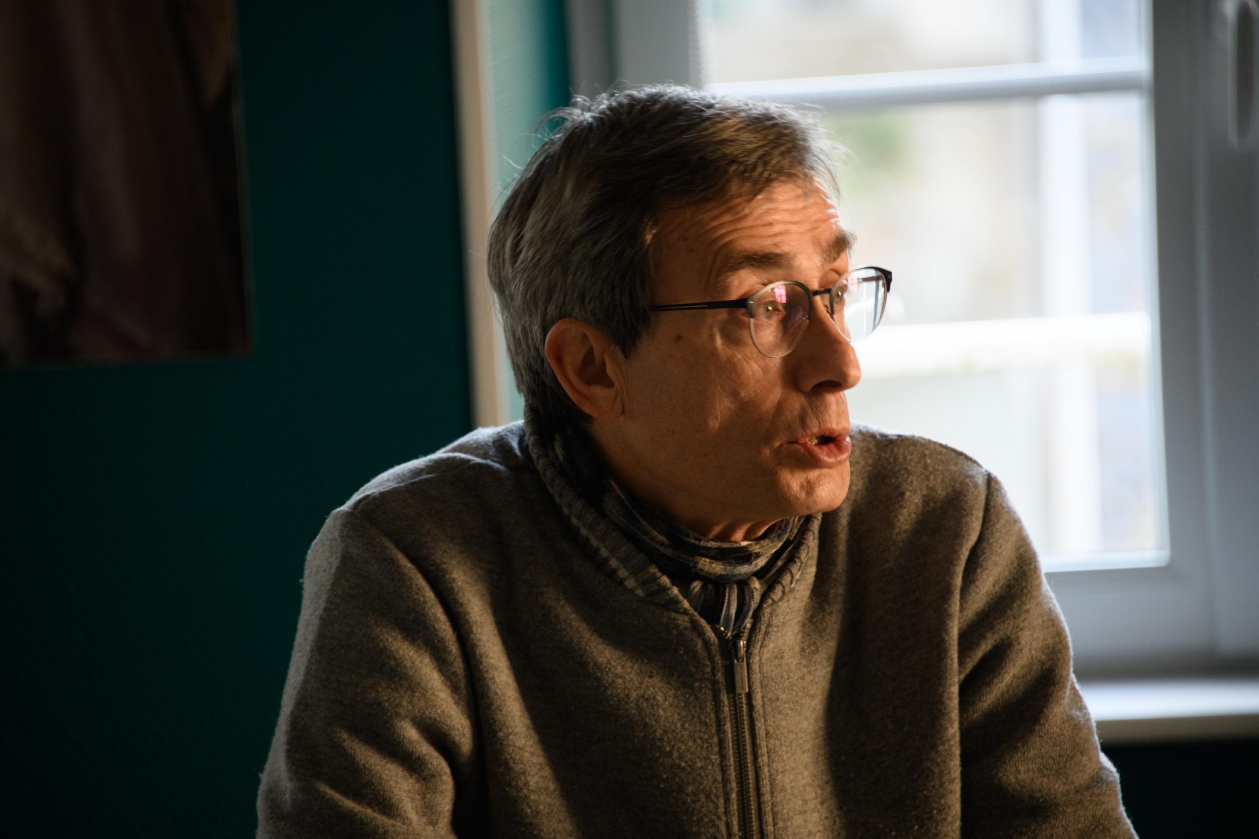 Philippe Morlot est adjoint. ©Benoit.Croisy - Coll. Ville de Granville