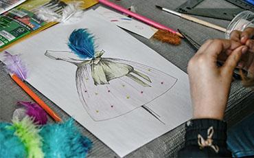 Atelier petit styliste - crédit photo B.CROISY Coll. Ville de Granville
