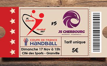 Le 32e de finale face à la JS Cherbourg aura lieu le dimanche 17 novembre, à 15h dans notre Cité Evènement.