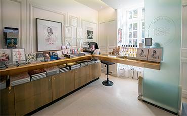 Boutique du musée Christian Dior.©Benoit.Croisy-Coll Ville de Granville