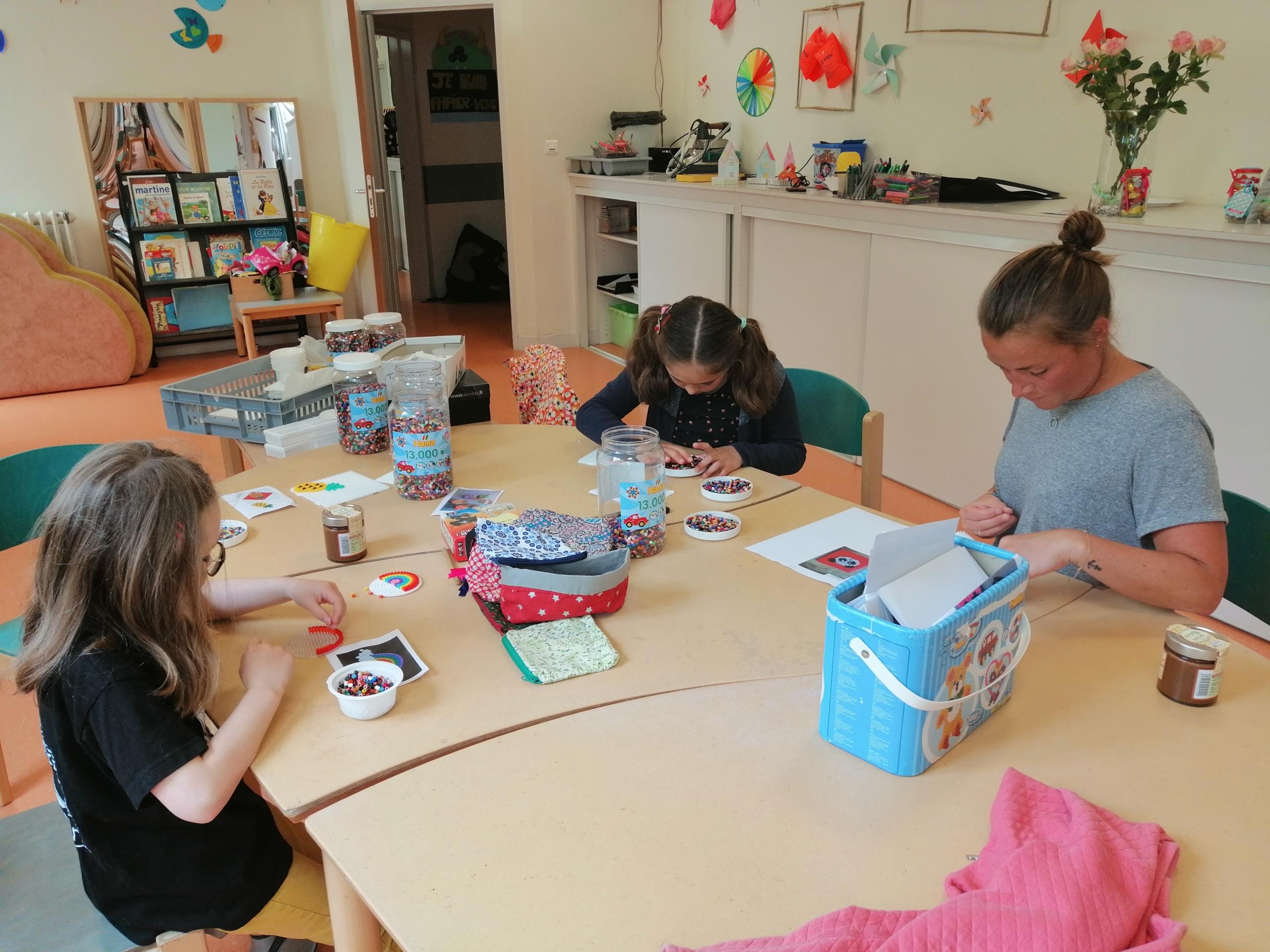 Des enfants de soignants sont accueillis à Château Bonheur.
