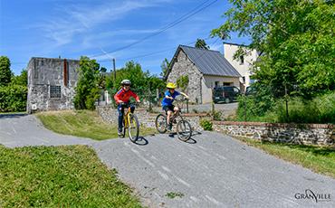 Château Bonheur participe à Mai à vélo. ©Benoit.Croisy-Coll.Ville de Granville
