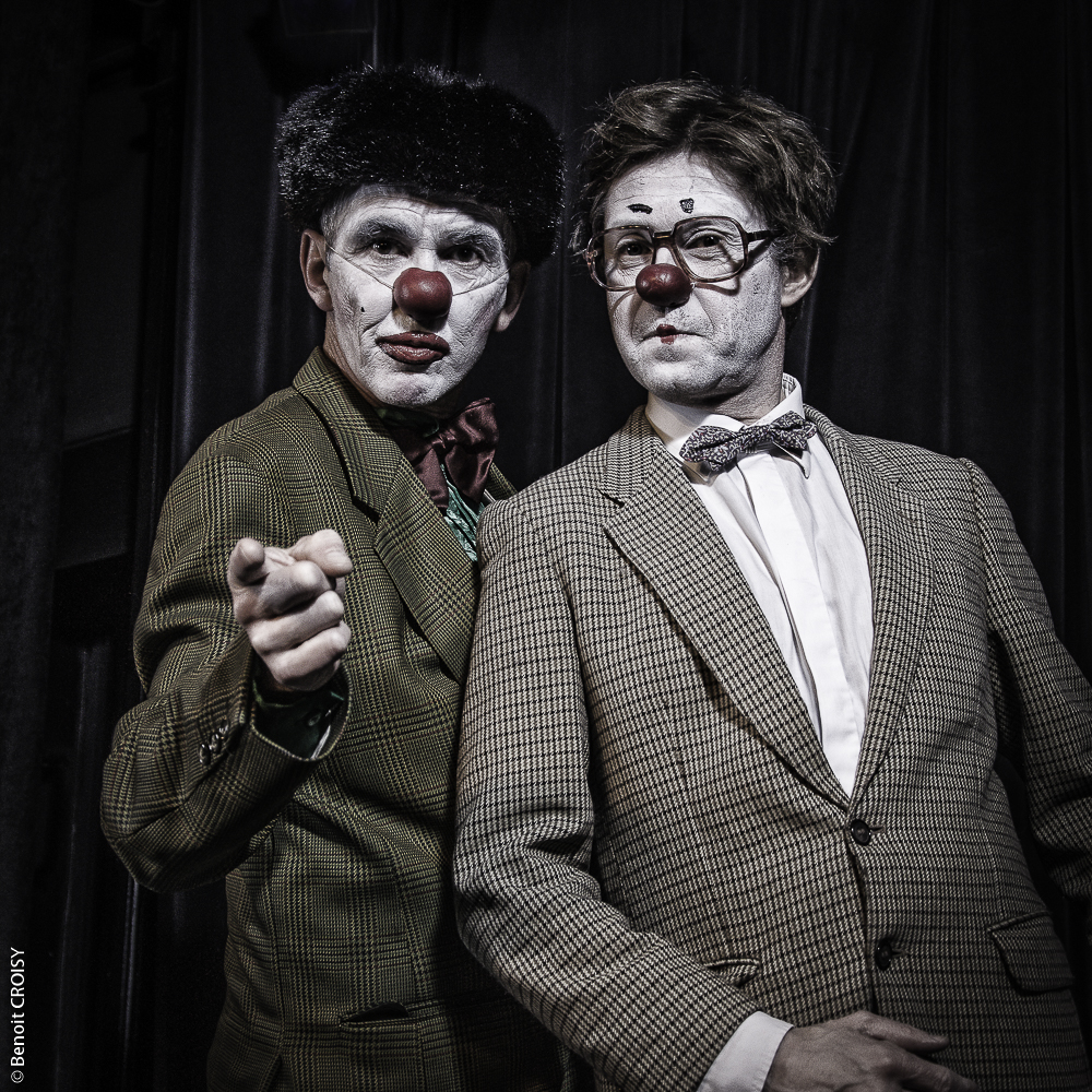 Duo Clowns ©Benoit Croisy