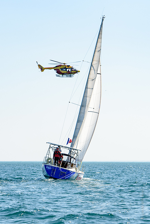 Exercice sauvetage en mer Sauve qui peut. ©Laurence Mao
