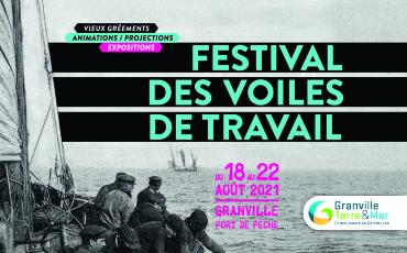 Le Festival des Voiles de Travail revient du 18 au 22 août 2021 à Granville.