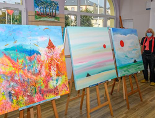 Le chercheur de couleurs Gil Mas expose à l'espace éphémère de créateurs