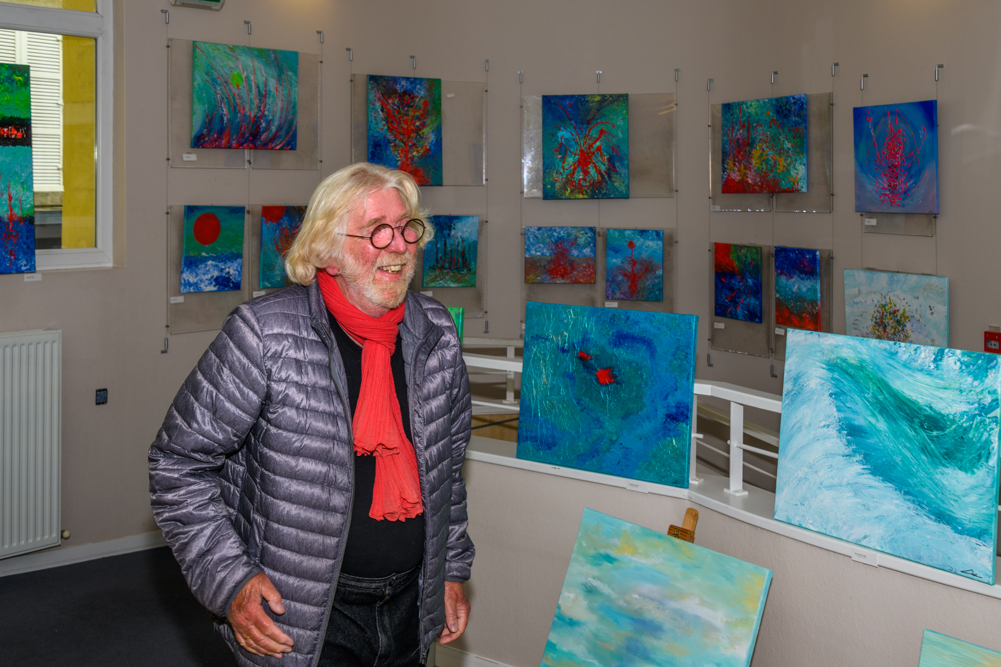 Gil Mas expose à l'espace éphémère de créateurs.©Benoit.Croisy