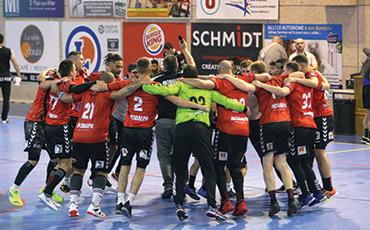Le PL Granville Handball a remporté les 5 matchs qu'il a joués cette saison.