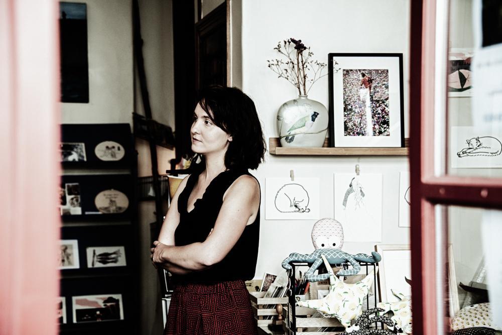 Emilie Maupetit a créé la boutique de créateurs Hissez Haut avec Isabelle Moisy.©Benoit.Croisy
