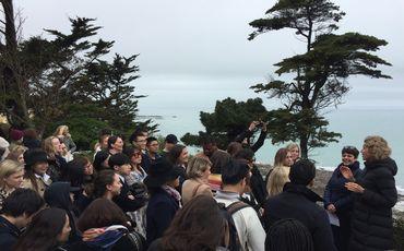 Les étudiants de l'IFM en visite au Musée Christian Dior