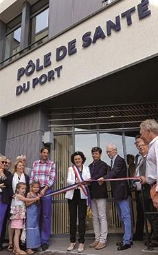 Inauguration Pôle de Santé du port