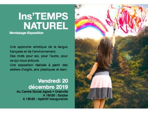 Ins'TEMPS NATUREL, le nouveau projet artistique, littéraire et environnemental ouvert à tous