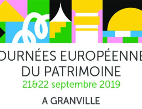 Programme des Journées Européennes du Patrimoine à Granville