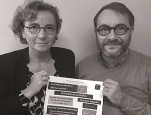 Mission Audition Solidarité, rencontre avec Anne et Jean-Pierre FOGEL
