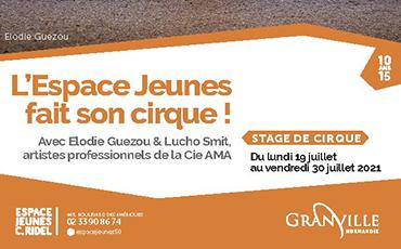 L'Espace Jeunes fait son cirque