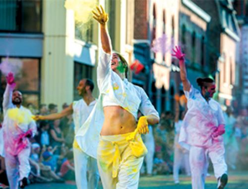 The Color of Time, inscrivez-vous au spectacle coloré du festival Sorties de Bain !