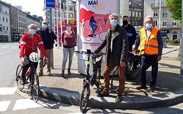 Le programme granvillais de Mai à vélo a été dévoilé. ©Flora.Gelot