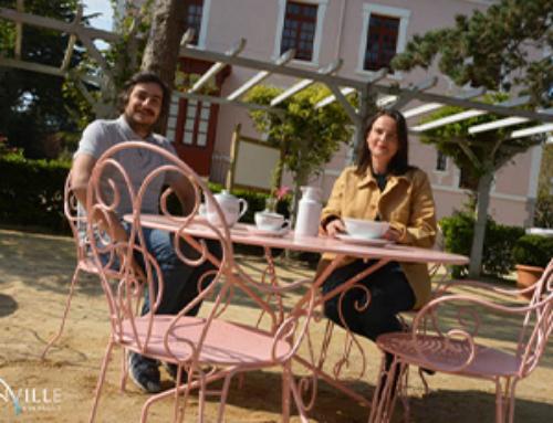 La Bonne Aventure de Maguie se révèle au coeur du jardin Christian Dior
