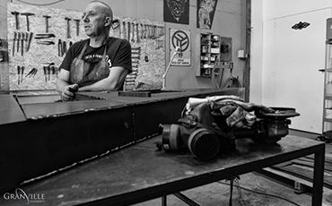 Marc Dupard sculpte depuis plus de vingt ans.