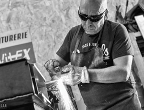 Marc Dupard transforme des pièces industrielles en œuvres d'art