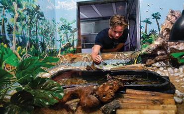 Nicolas Audouard a effectué son stage de 3e au Musée océanographique de Monaco
