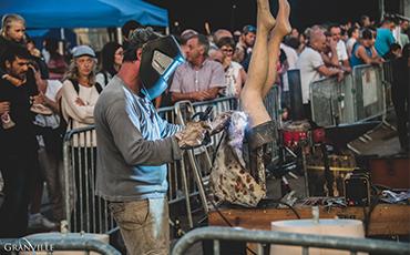 Les soudeurs réaliseront des œuvres devant les festivaliers.