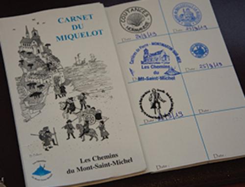 90 pèlerins ont fait tamponner leurs carnets du Marcheur et du Miquelot