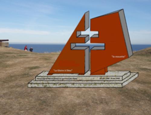 Bientôt une nouvelle stèle en hommage à tous les Résistants, à la Pointe du Roc.