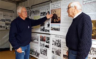 Exposition de Philippe Letouzey et ses amis au Festival des Voiles de Travail 2021. ©Flora.Gelot - Coll. Ville de Granville