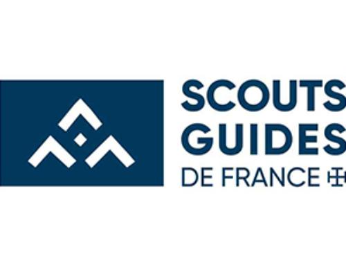 Action éco-citoyenne, nettoyage des rues de Granville par les Scouts de France