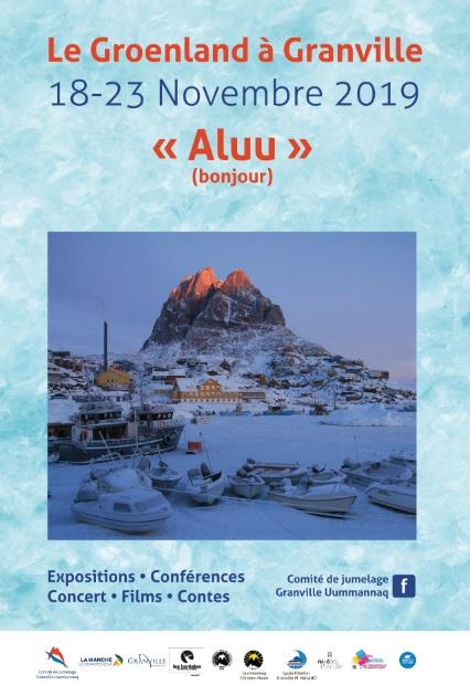Affiche de la Semaine groenlandaise 2019.