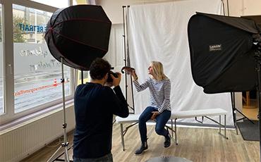 Séance shooting photo pour Frésil Marée