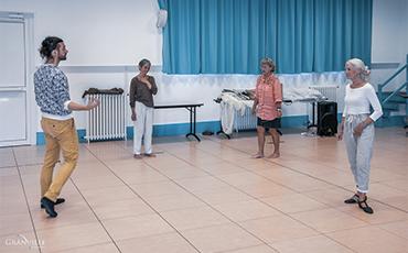 Victor Duclos a chorégraphié deux tableaux du spectacle.©B.Croisy