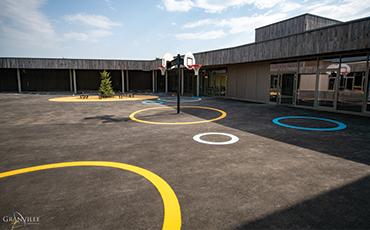 Le groupe scolaire Simone Veil sera inauguré le 31 août 2019.©B.Croisy