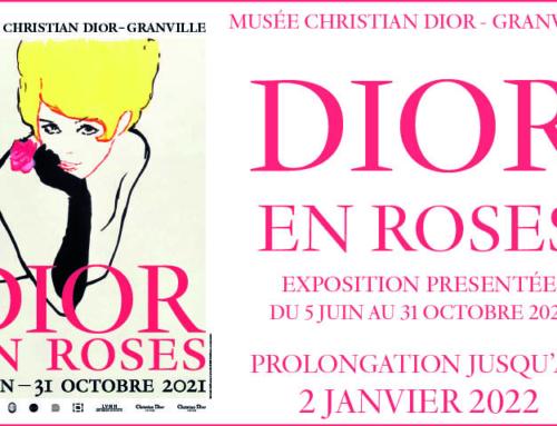 L'exposition «Dior en roses» est prolongée !
