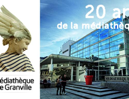 La médiathèque de Granville fête ses 20 ans !