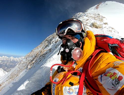 Thomas Dutheil a réalisé son rêve en atteignant le sommet du mont Everest