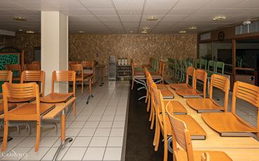Le restaurant du FJT Saint-Nicolas le 12 décembre 2019.