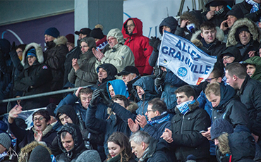 Les supporters de l'US Granville seront encore nombreux samedi 16 novembre, au stade Louis Dior.